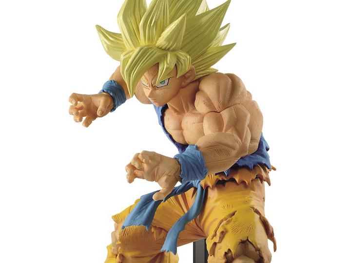 US Seller Banpresto Dragon Ball Z FES Super Sayian 3 Son Goku vol 10 Figure