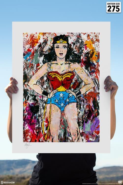 Dc Comics Golden Age Wonder Woman Art Print