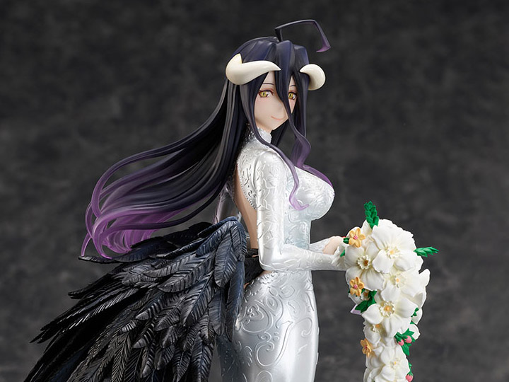 1:7 Scale PVC Figure Wedding Dress Version Albedo Overlord III