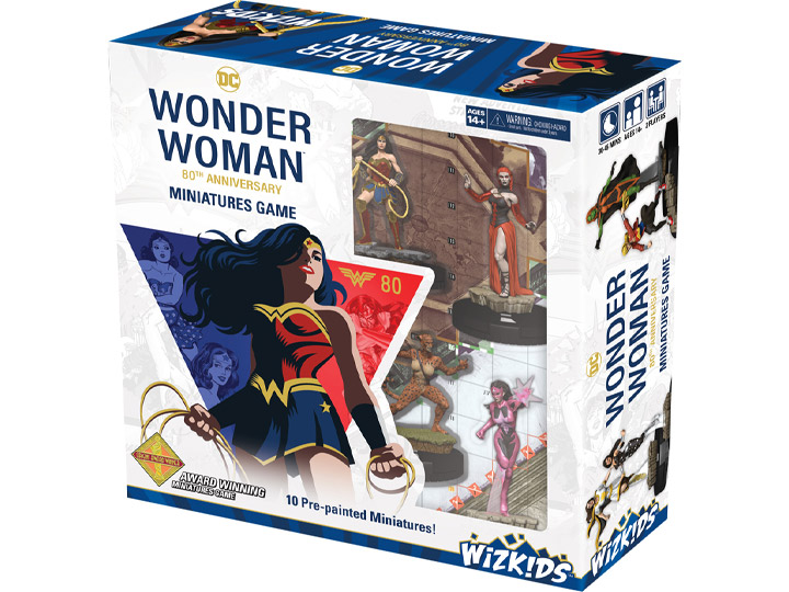 Image result for wonder woman 80th anniversary heroclix