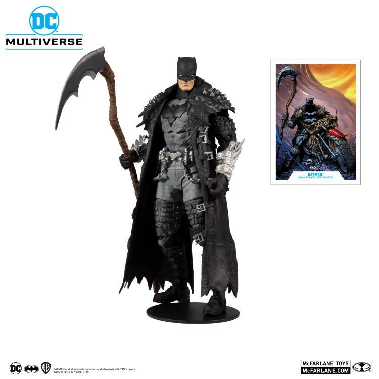 Dark Nights: Death Metal DC Multiverse Batman Action Figure Gallery Image 2