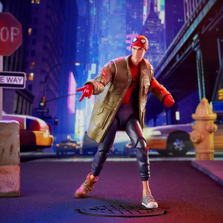 Spider-Man: Into the Spider-Verse Marvel Legends Peter B. Parker (Stilt-Man BAF)