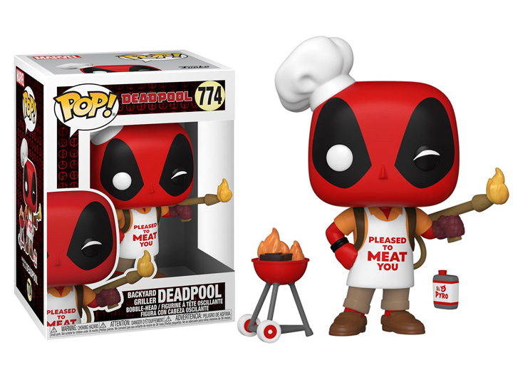 Pop Marvel Deadpool 30th Anniversary Backyard Griller