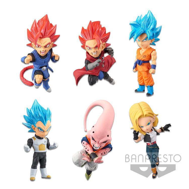 1 Mini Figure SSJ Future Trunks Dragon Ball Legends Collab WCF Vol