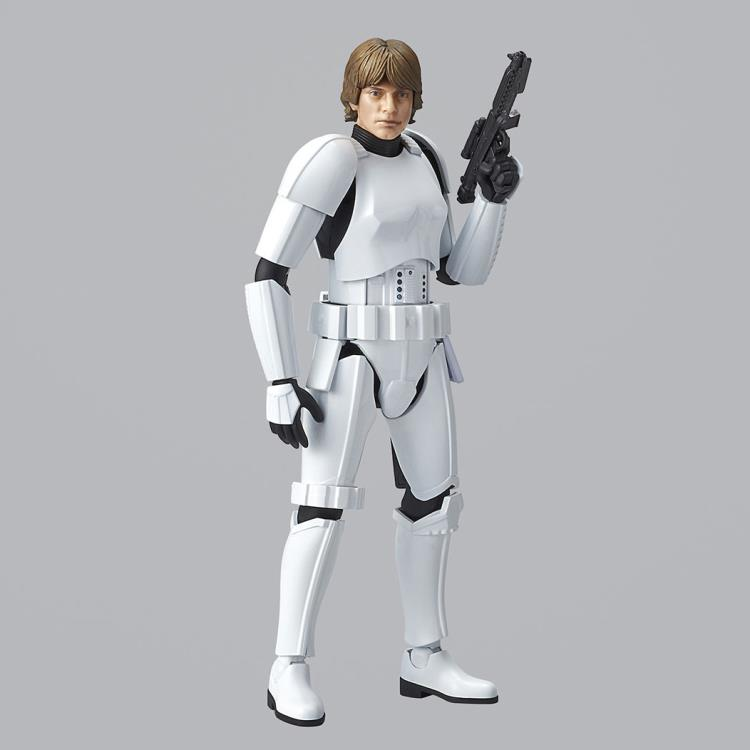 Plastic Model Kit Star Wars Luke Skywalker Stormtrooper Free Shipping!