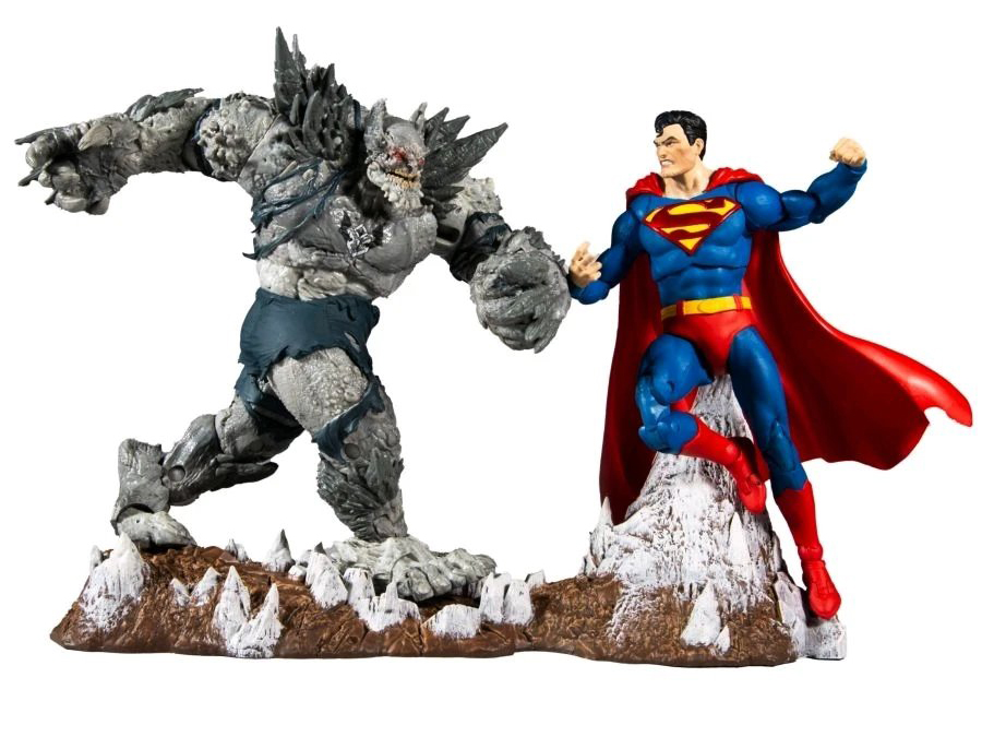 Dark Nights: Metal DC Multiverse Batman Earth -1 (The Devastator) & Superman Two-Pack Gallery Image 2