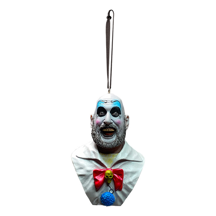 House of 1000 Corpses Captain Spaulding Wooden coffin shaped box horror Halloween decor 6 Inches