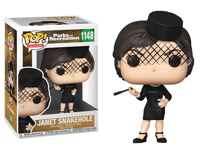 Pop! TV: Parks and Recreation - Janet Snakehole