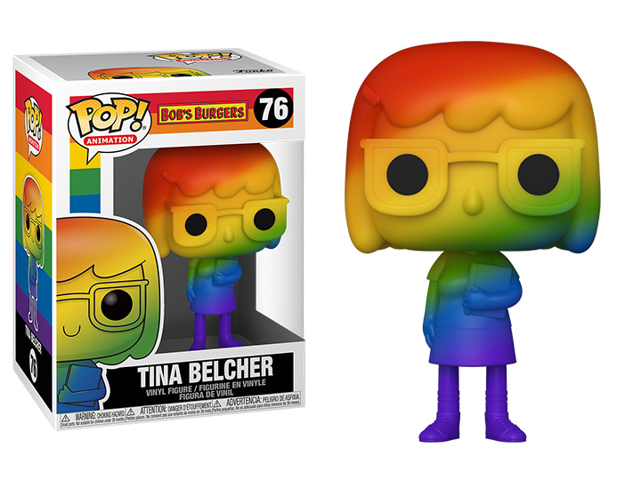 Pop! Animation: Pride 2021 - Tina Belcher (Rainbow)