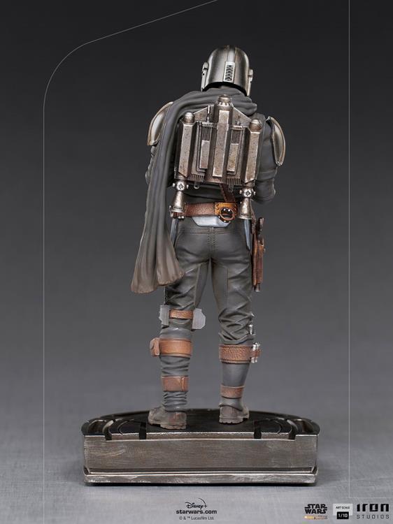 IRON STUDIOS : The Mandalorian and Grogu 1/10 Deluxe Art Scale Limited Edition Statue 146f697f-9e13-4ea9-b1c9-275622529092