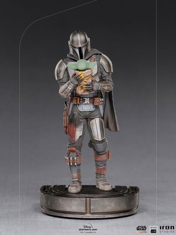 IRON STUDIOS : The Mandalorian and Grogu 1/10 Deluxe Art Scale Limited Edition Statue 7a39c1b3-b7dd-400f-b45e-a158ce6820f4