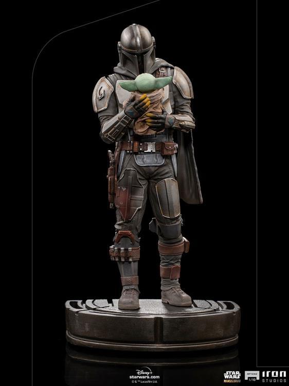 IRON STUDIOS : The Mandalorian and Grogu 1/10 Deluxe Art Scale Limited Edition Statue D9436e80-b9ed-4584-a85c-b8251f01e89b