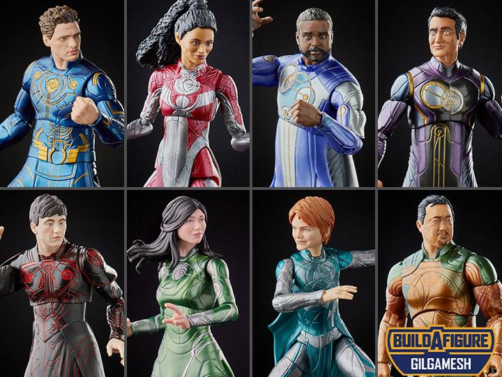 HASBRO : Marvel Legends - Eternals Marvel Legends Wave 1 Set of 7 Figures (Gilgamesh BAF)-2021 0c7a7b43-9ce1-4116-acb5-385a9c6f5d94