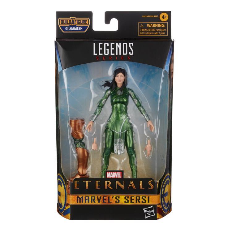 HASBRO : Marvel Legends - Eternals Marvel Legends Wave 1 Set of 7 Figures (Gilgamesh BAF)-2021 19cc2999-40fa-45db-9530-dd2b513e05e6