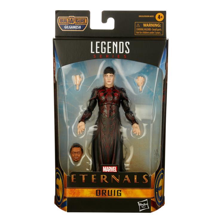 HASBRO : Marvel Legends - Eternals Marvel Legends Wave 1 Set of 7 Figures (Gilgamesh BAF)-2021 81ef716e-524e-4bb8-be4f-7782f286ab80
