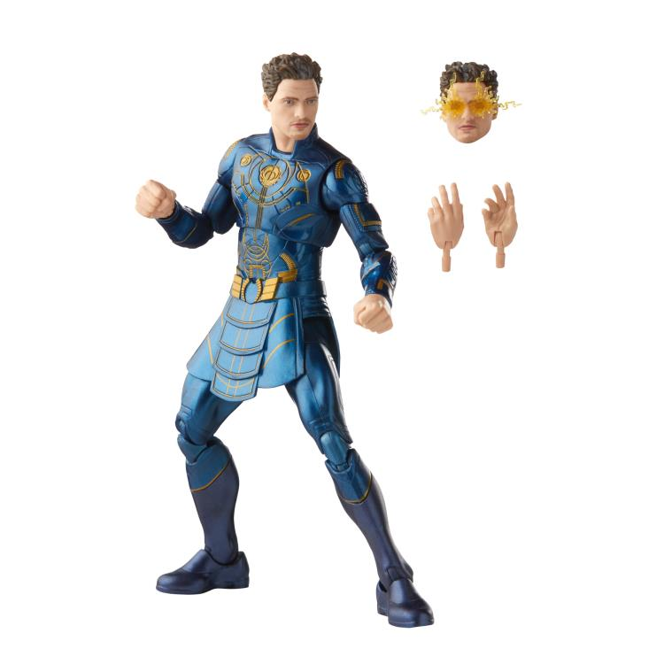 HASBRO : Marvel Legends - Eternals Marvel Legends Wave 1 Set of 7 Figures (Gilgamesh BAF)-2021 A814509d-5b8e-481e-8679-124ec46a9598