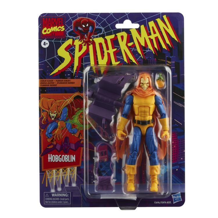 Spider-Man Marvel Legends Retro Collection Wave 2 Set of 6 Figures - 2022 308d1a7d-88a7-492d-b133-e6167f58b552