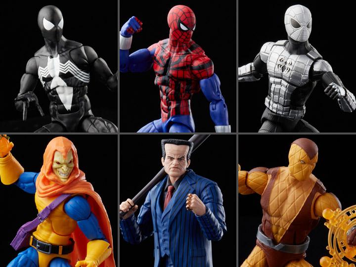 Spider-Man Marvel Legends Retro Collection Wave 2 Set of 6 Figures - 2022 375b9765-cfb5-4ebe-9323-8229cc9d86a1