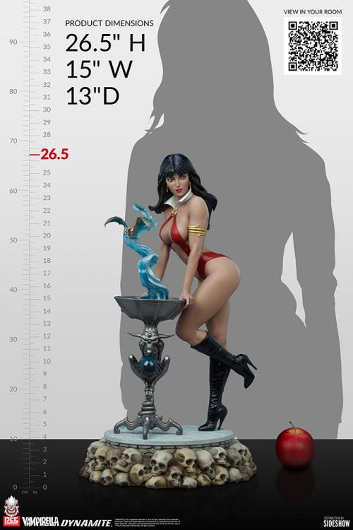 Premium Collectibles Studio : Vampirella 1:3 Scale Statue 7851b902-3397-4096-bd28-3497d3067074