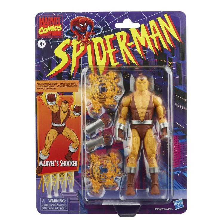 Spider-Man Marvel Legends Retro Collection Wave 2 Set of 6 Figures - 2022 881e4cf5-3c7f-4141-8b6f-8cb65a71203b