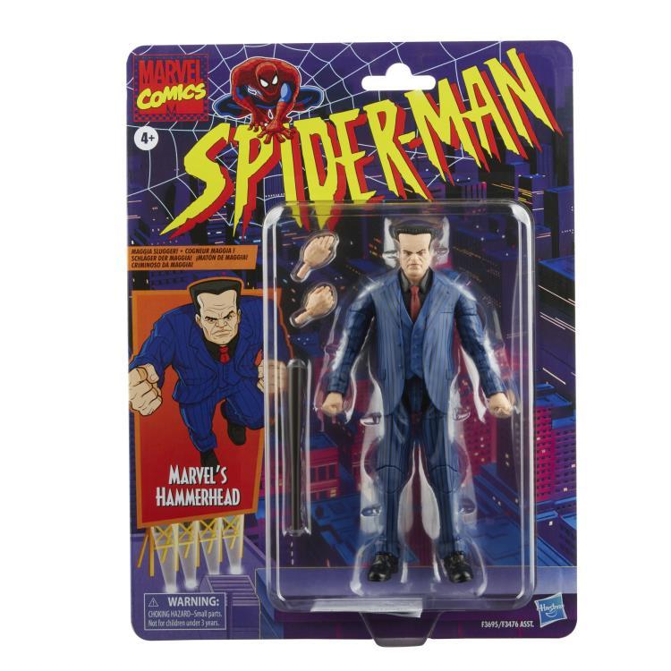Spider-Man Marvel Legends Retro Collection Wave 2 Set of 6 Figures - 2022 97f3adce-4054-4885-891a-ee0b37675810