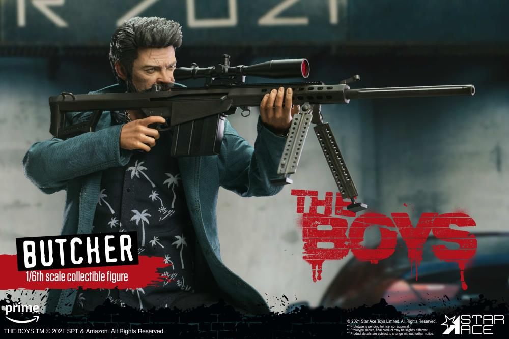The Boys Billy Butcher (Deluxe Ver.) 1/6 Scale Figure Gallery Image 8