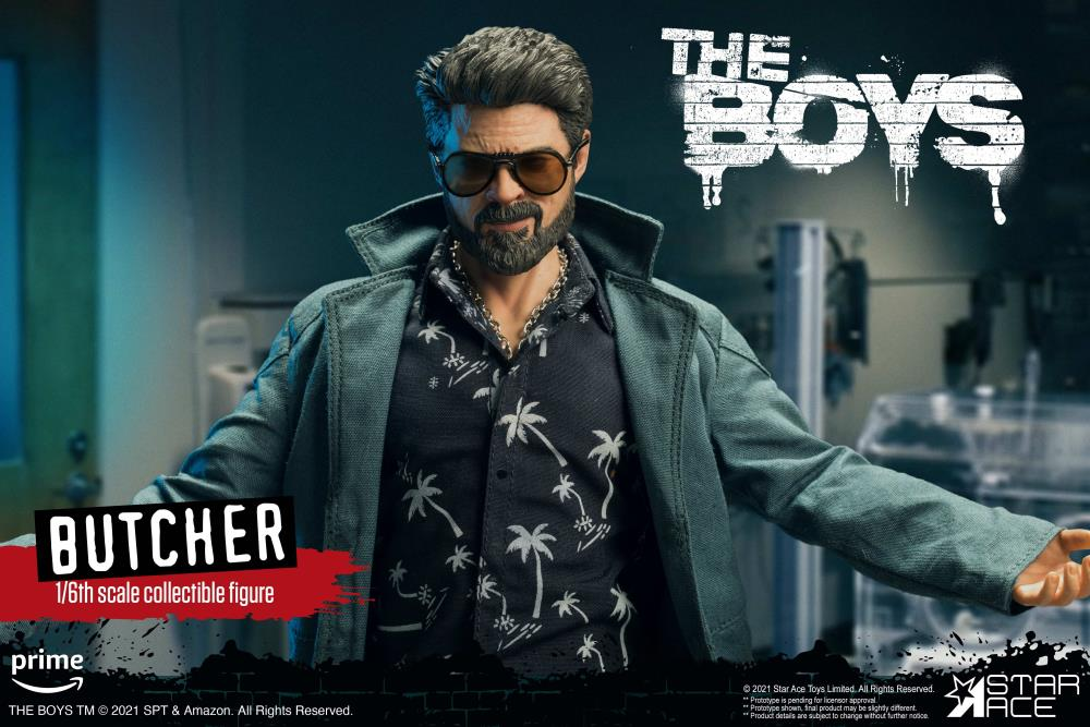 The Boys Billy Butcher (Deluxe Ver.) 1/6 Scale Figure Gallery Image 7