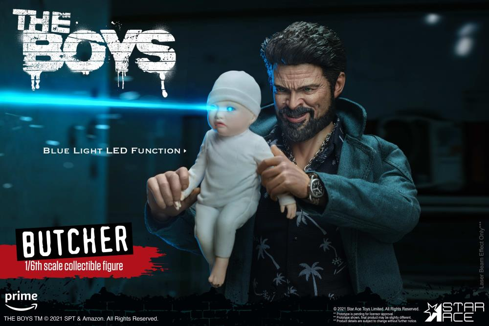 The Boys Billy Butcher (Deluxe Ver.) 1/6 Scale Figure Gallery Image 10