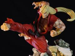 Street Fighter II Battle of Brothers Ken Masters 1/6 Scale Limited Edition Diorama