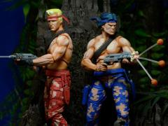 Contra Bill & Lance Figures (Video Game Appearance)
