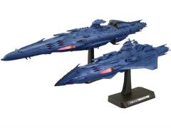 1/1000 Haizelard Class Space Battle Ship & Meltria Class Space Battle Cruiser  Exclusive