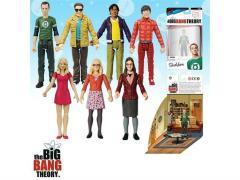 "The Big Bang Theory 3.75"" Figure Series 01 - Set of 7"