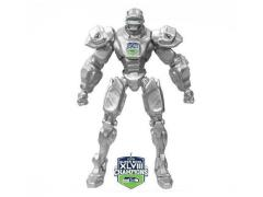 "2014 10"" Fox Sports Robot - Seattle Seahawks Super Bowl Champions"