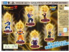 Dragon Ball Z World Collectable Figure Super Saiyans Random Figure