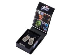 Captain America Steve Rogers Dog Tags Exclusive