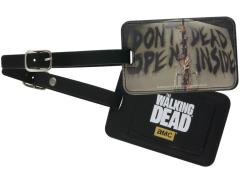 The Walking Dead Luggage Tag
