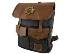 The Walking Dead Rick's Sheriff Backpack - Black