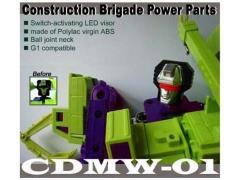 CDMW-01 Construction Brigade Power Parts Custom Head