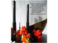 CDMW-18 The King's Power Parts Custom Cannons