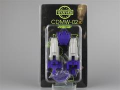 CDMW-02K Construction Brigade Power Parts Custom Hips/Waist (Encore - Silver Thighs)