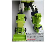 CDMW-02K  Construction Brigade Power Parts Custom Hips/Waist (Encore - Silver Thighs)