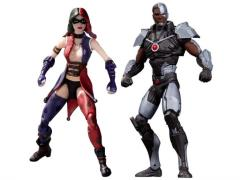 """Injustice:  Cyborg & Harley Quinn 3.75"""" Two-Pack"""