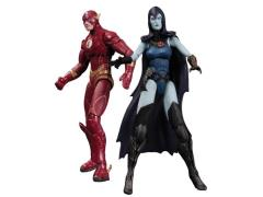 """Injustice:  The Flash & Raven Action Figure 3.75"""" Two-Pack"""