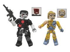 Valiant Comics Minimates Two Pack - Bloodshot & X-O Manowar