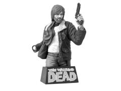 The Walking Dead Rick Grimes Bust Bank Black & White