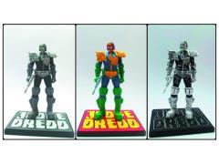 Judge Dredd Mcmahon Statue Three Packs PX Previews Exclusive