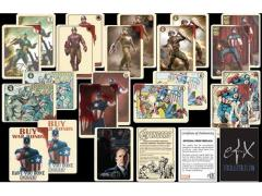 Agent Coulson's Vintage Captain America Trading Cards Set New Packaging