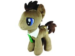 """My Little Pony Dr. Hooves (Closed/Cool Eyes) 12"""" Plush"""