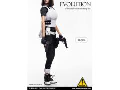 1/6 Scale Female Clothing Set Evolution - Black