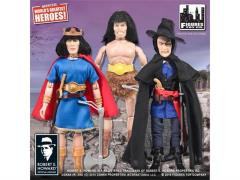 "Conan 8"" Retro Figure Series 01 - Set of 3"